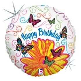 Балон Happy Birthday