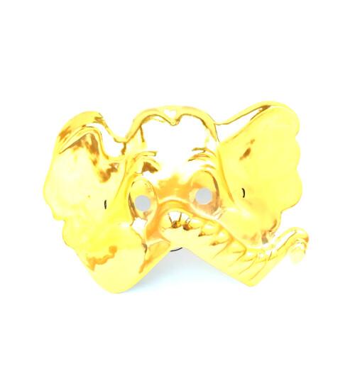 Златна маска на слон