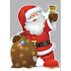 Изрязана картичка - Коледна