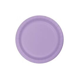 Едноцветни парти чинии - лилави