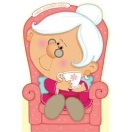 Картичка Най-добрата баба