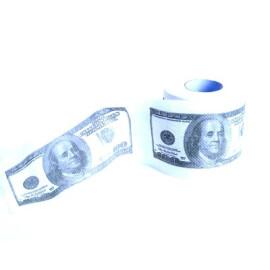 Тоалетна хартия долари