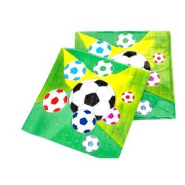 Празнични салфетки футбол
