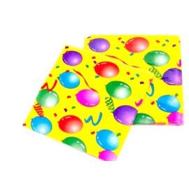 Празнични салфетки с балони