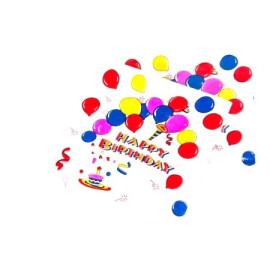 Празнични салфетки Happy Birthday