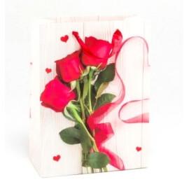 Подаръчна торбичка - Рози