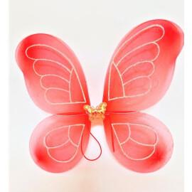 Пеперудени крила червени