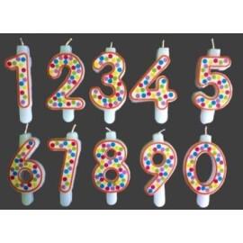 Парти свещи цифри Точки