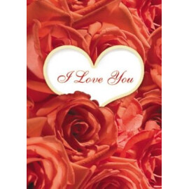 Картичка - I Love You