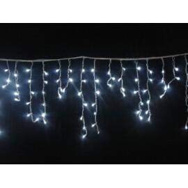 Новогодишни лампи завеса бяла