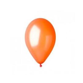Балони металик оранжеви - 28см.