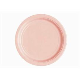 Едноцветни парти чинии - розови