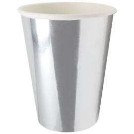 Парти чаши металик сребърни
