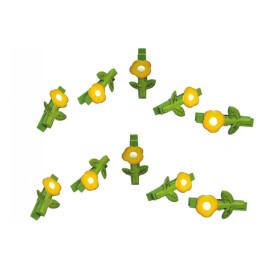 Декоративна щипка цвете