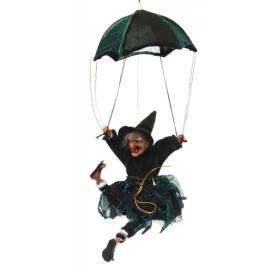 Сувенирна кукла - Баба Яга с парашут