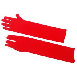 Театрални ръкавици червени