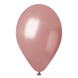 Балони металик розово злато - 30см.