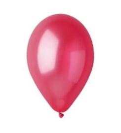 Балони металик червени - 28см.