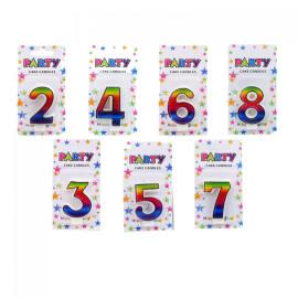 Парти свещи цифри