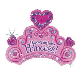 Балон корона Happy Birthday