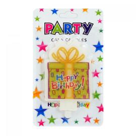 """Свещичка """"Happy Birthday"""""""