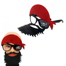 """Парти очила - дегизировка """"Пират с брада"""""""