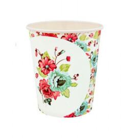 Парти чаши с цветя