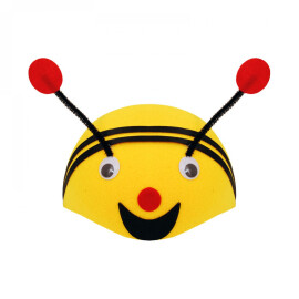 Карнавална шапка пчела