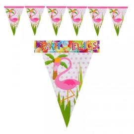 Парти гирлянд знаменца Фламинго