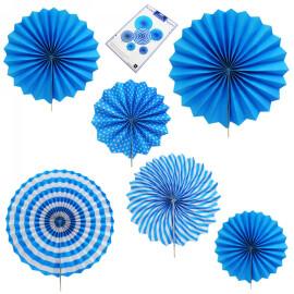 Комплект розетки - сини