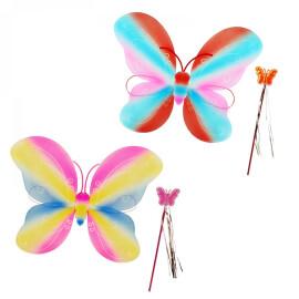 Крила на  пеперуда и пръчица