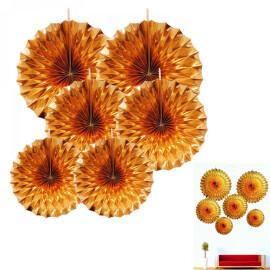 Комплект розетки - златни