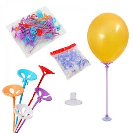 Пръчки за балони с вендуза