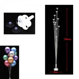 Стойка за балони с вендузи - 11 броя