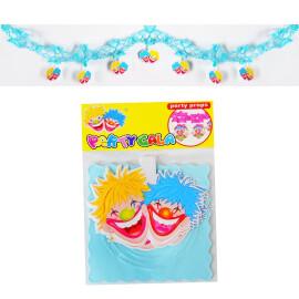 Хартиен гирлянд - клоуни