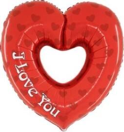 Балон сърце - I Love You