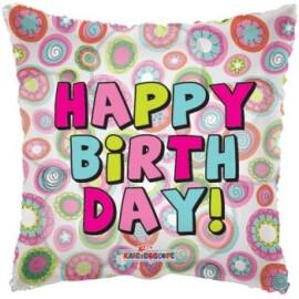 Балон Happy Birthday прозрачен