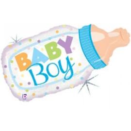 Балон Бебешко шише - Baby Boy
