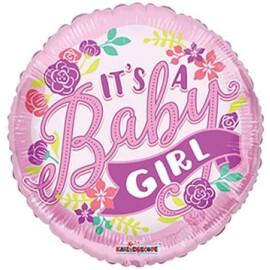 Балон It's a baby girl