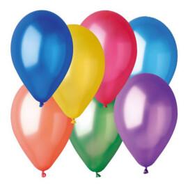 Балони металик асорти - 28см.