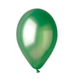 Парти балони металик зелени