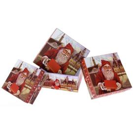 Картонена кутия - Дядо Коледа