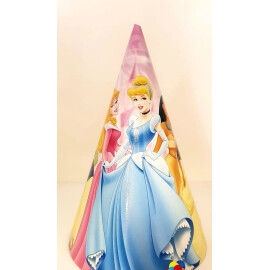 Парти шапка Принцеси - 16см.