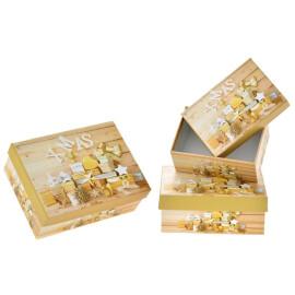 Картонена кутия - Коледни подаръци