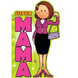 Картичка - Супер мама