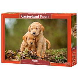 Пъзел Castorland  - Кучешка любов