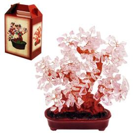 Дърво на щастието - Розов кварц