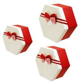 Подаръчна кутия шестоъгълна