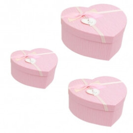 Подаръчна кутия сърце