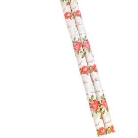 Опаковъчна хартия с рози